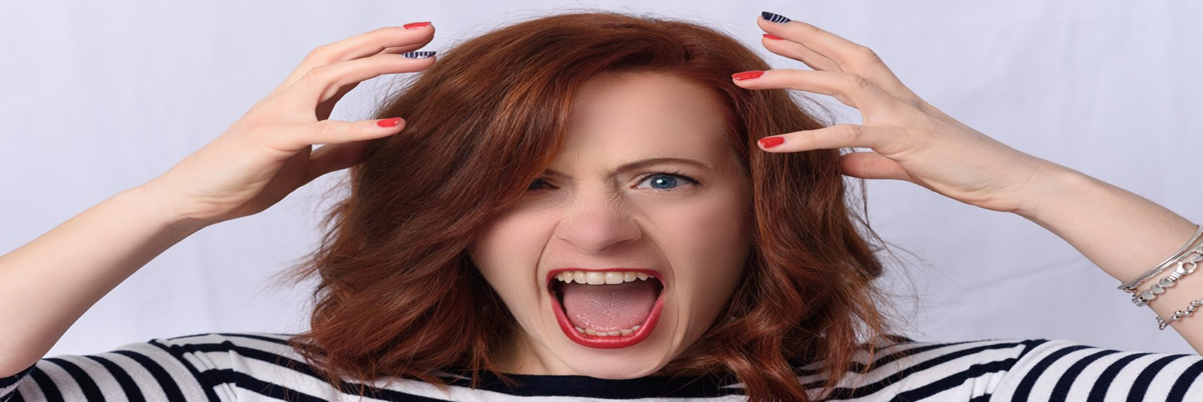 Person Who Needs Anger Management Feels Stressed Out