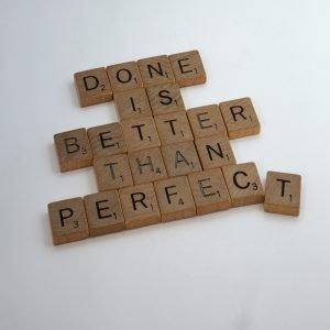 perfectionism can cause procrastination and the inability to act
