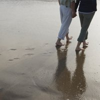 Footsteps In The Sand From Participants Of Couples Counselling