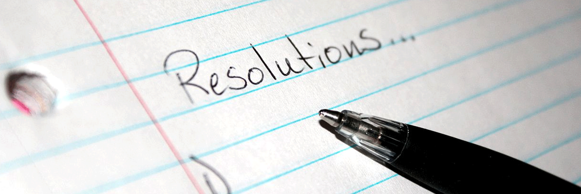 How to Keep Your New Year Resolutions