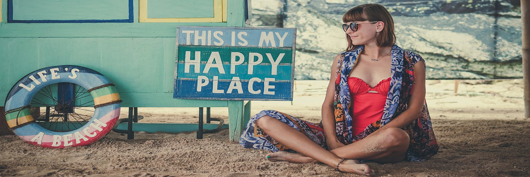 How To Be Happy - Person In Their Happy Place